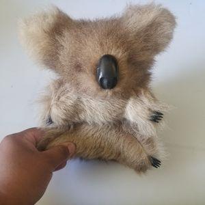 Australia Koala bear with kangaroo fur